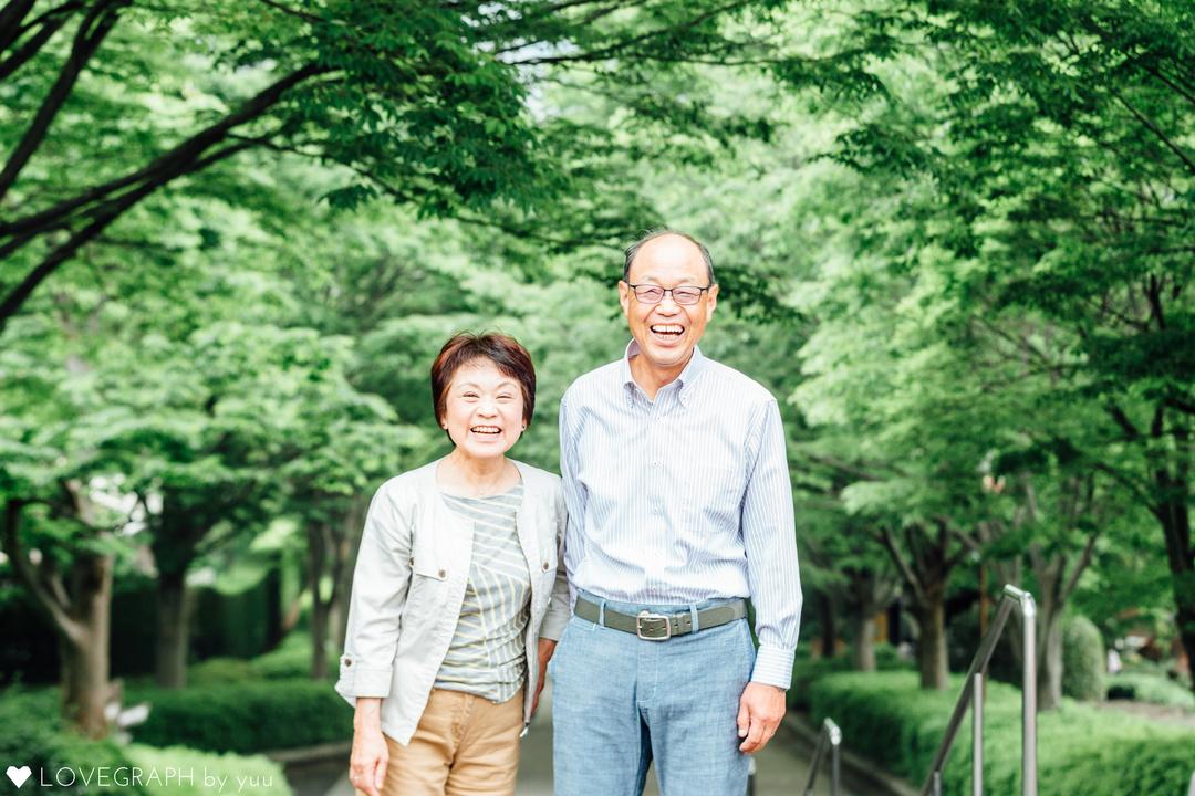 50年目のときめきを贈ろう。両親の金婚式を一緒にお祝い