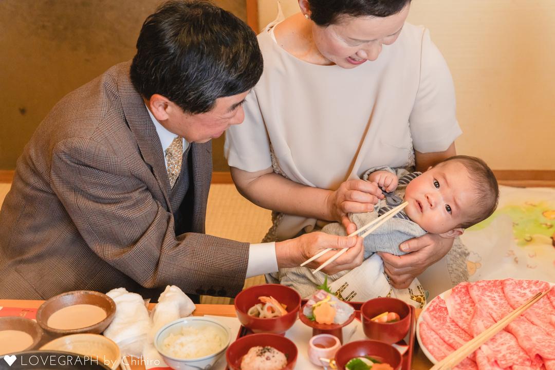 生後100日の儀式『お食い初め』を一生残る素敵な写真に♪
