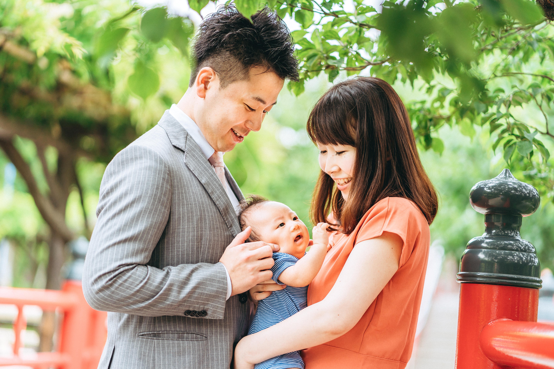 東京亀戸天神社での「お宮参り」人気の理由&写真撮影について