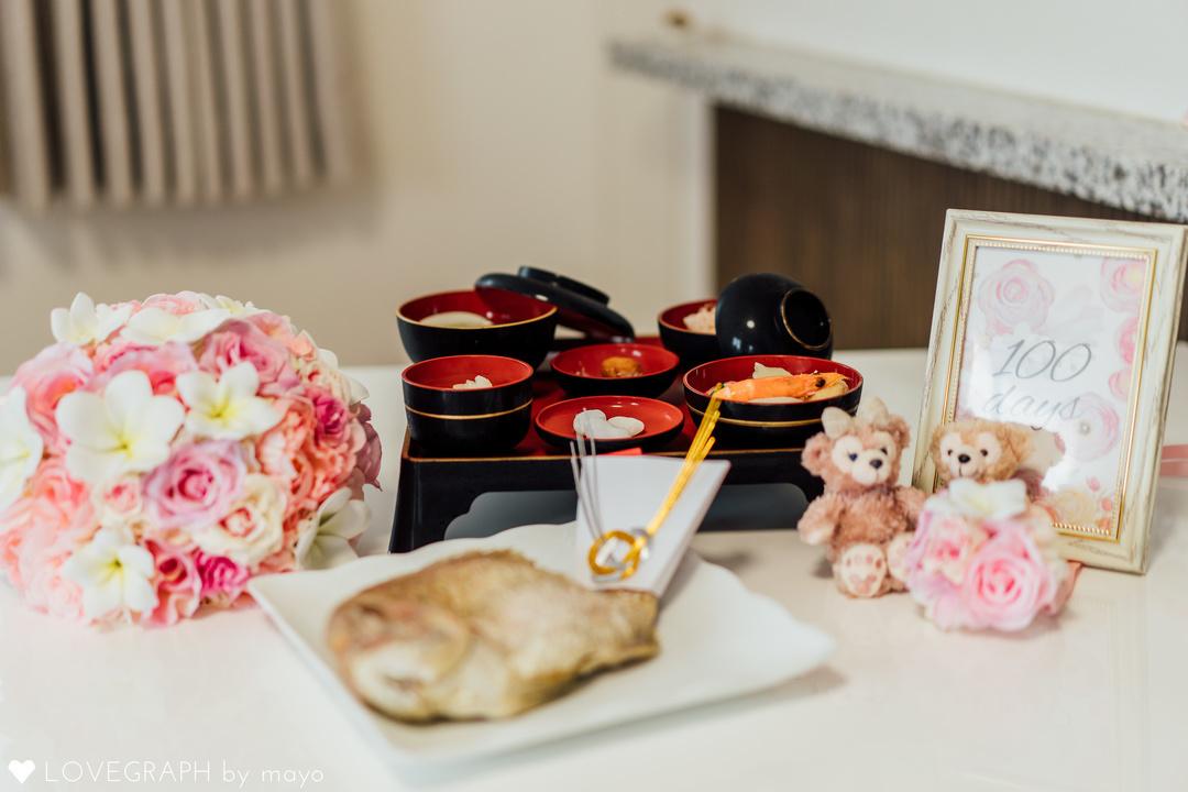生後100日の儀式『お食い初め』を一生残る素敵な写真に♪  2番目の写真