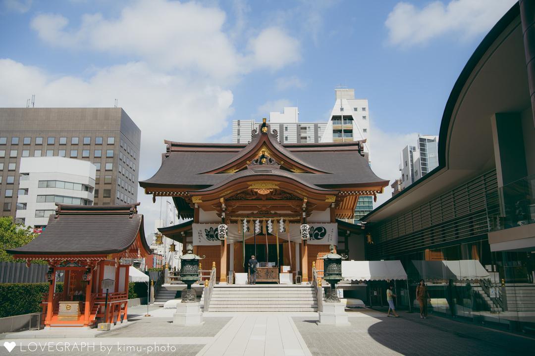 東京水天宮での「お宮参り」人気の理由&写真撮影について  1番目の写真