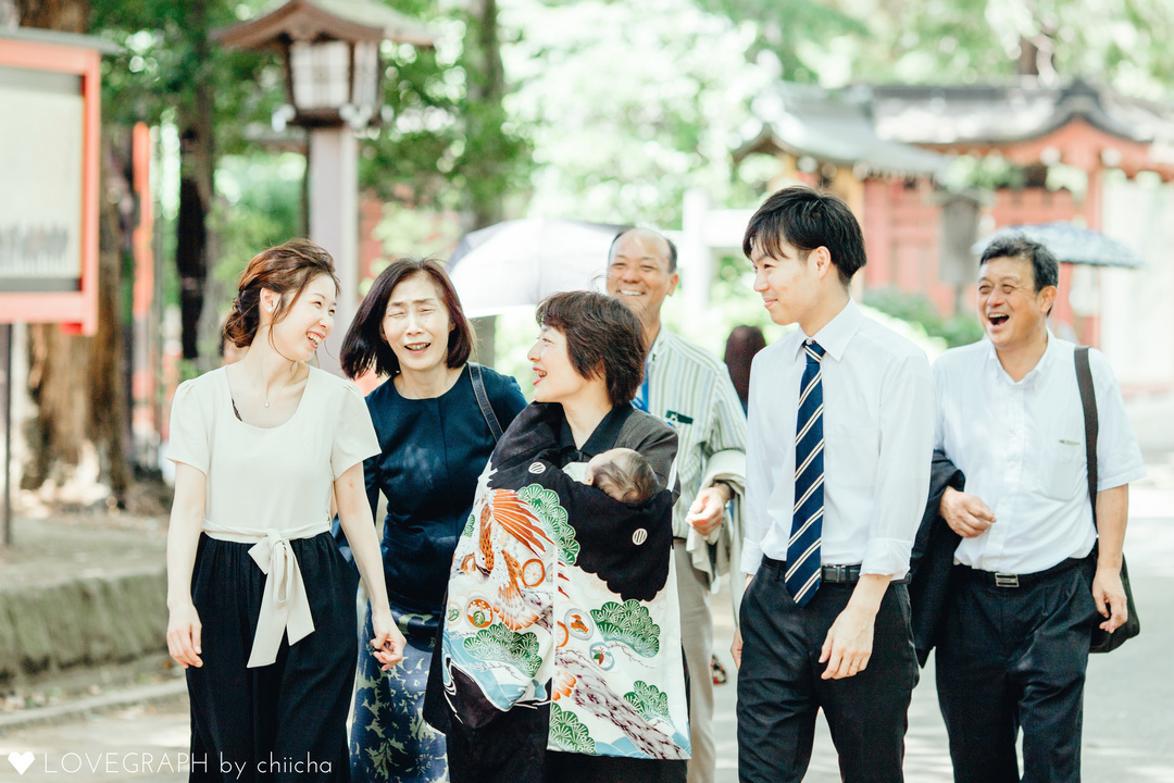 東京水天宮での「お宮参り」人気の理由&写真撮影について  2番目の写真
