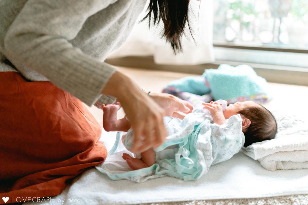"""赤ちゃんがうまれた喜びを形に残す""""アートニューボーンフォト""""の撮影に密着♩撮影同行レポートvol.2  13番目の写真"""