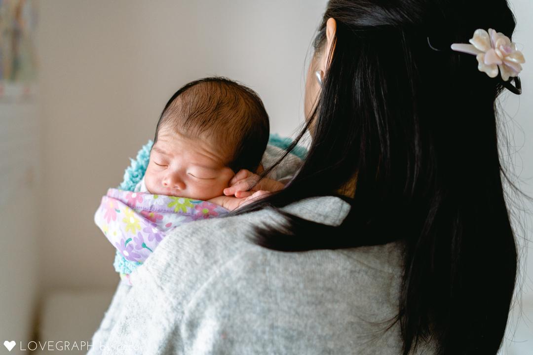 """赤ちゃんがうまれた喜びを形に残す""""アートニューボーンフォト""""の撮影に密着♩撮影同行レポートvol.2  14番目の写真"""
