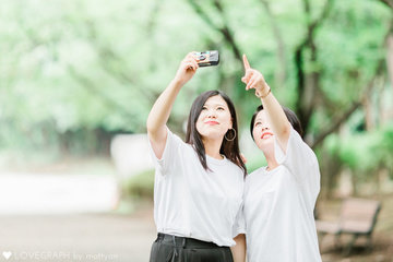 Miyu×Saki | フレンドフォト(友達)