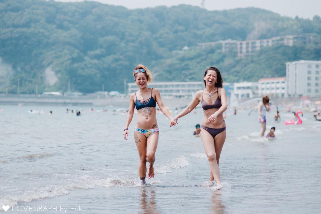 zushi beach  | フレンドフォト(友達)