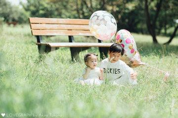 Nanako's 1st Birthday | 家族写真(ファミリーフォト)
