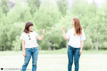 Nozomi × Miho | フレンドフォト(友達)