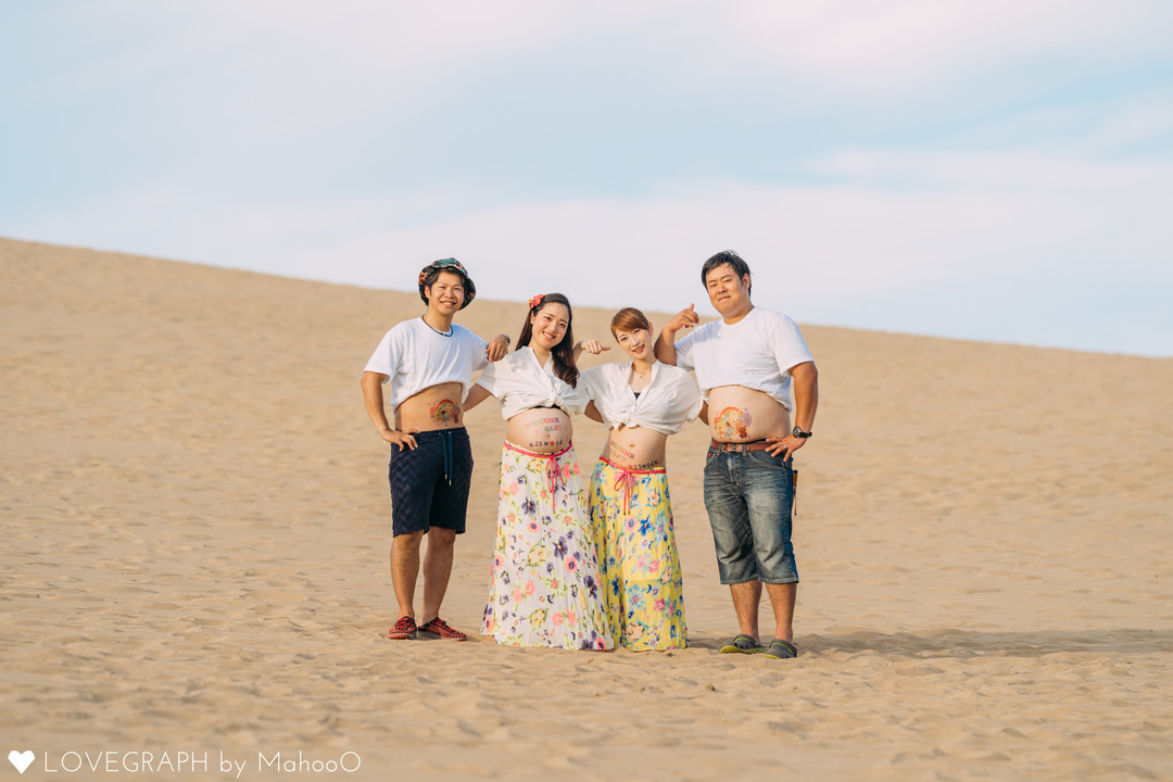 Momo×Kensuke&Mai×keeego's maternity photo | 夫婦フォト