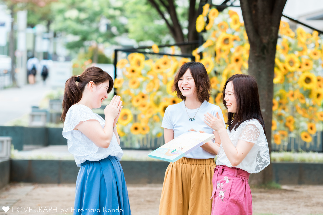 Kazune Shoko Ayaka | フレンドフォト(友達)