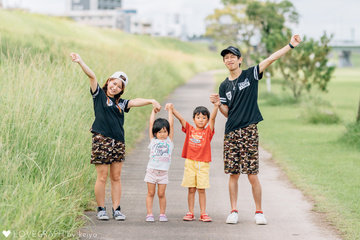 Sho×Minori | 家族写真(ファミリーフォト)