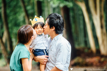 SODAI 1st Birthday | 家族写真(ファミリーフォト)