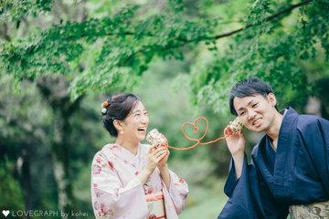Yukihiro×KANAKO in Kyoto | 夫婦フォト