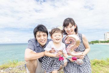 YUI 2nd birthday in OKINAWA | 家族写真(ファミリーフォト)