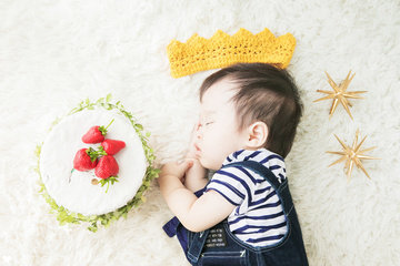 Itsuki 1st Birthday | 家族写真(ファミリーフォト)