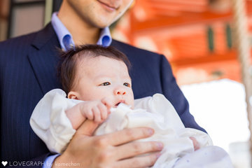 Reiお宮参り | 家族写真(ファミリーフォト)