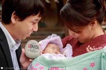 Hinata-1month | 家族写真(ファミリーフォト)