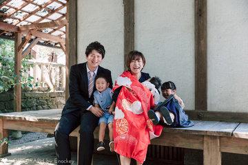 Suzunaお宮参り | 家族写真(ファミリーフォト)