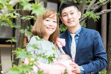 HIMENA お宮参り | 家族写真(ファミリーフォト)