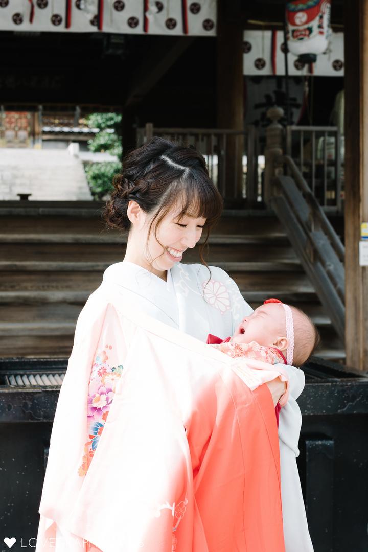 Miharu's okuizome | 家族写真(ファミリーフォト)