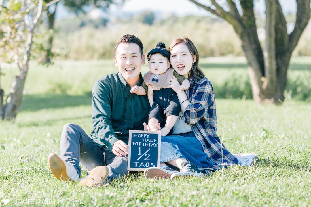 Tao HalfBirthday * | 家族写真(ファミリーフォト)