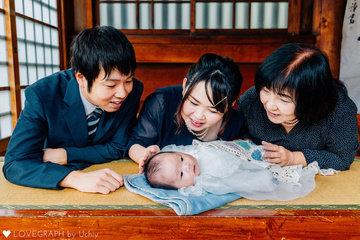 初宮参り | 家族写真(ファミリーフォト)