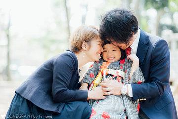 "Yutsuki ""おめでとう"" | 家族写真(ファミリーフォト)"