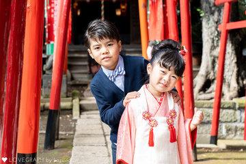 さっちゃん七五三 | 家族写真(ファミリーフォト)