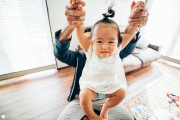 Tumugi First Birthday | 家族写真(ファミリーフォト)