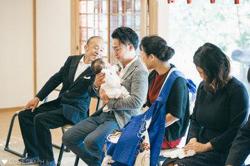 和平 お宮参り | 家族写真(ファミリーフォト)