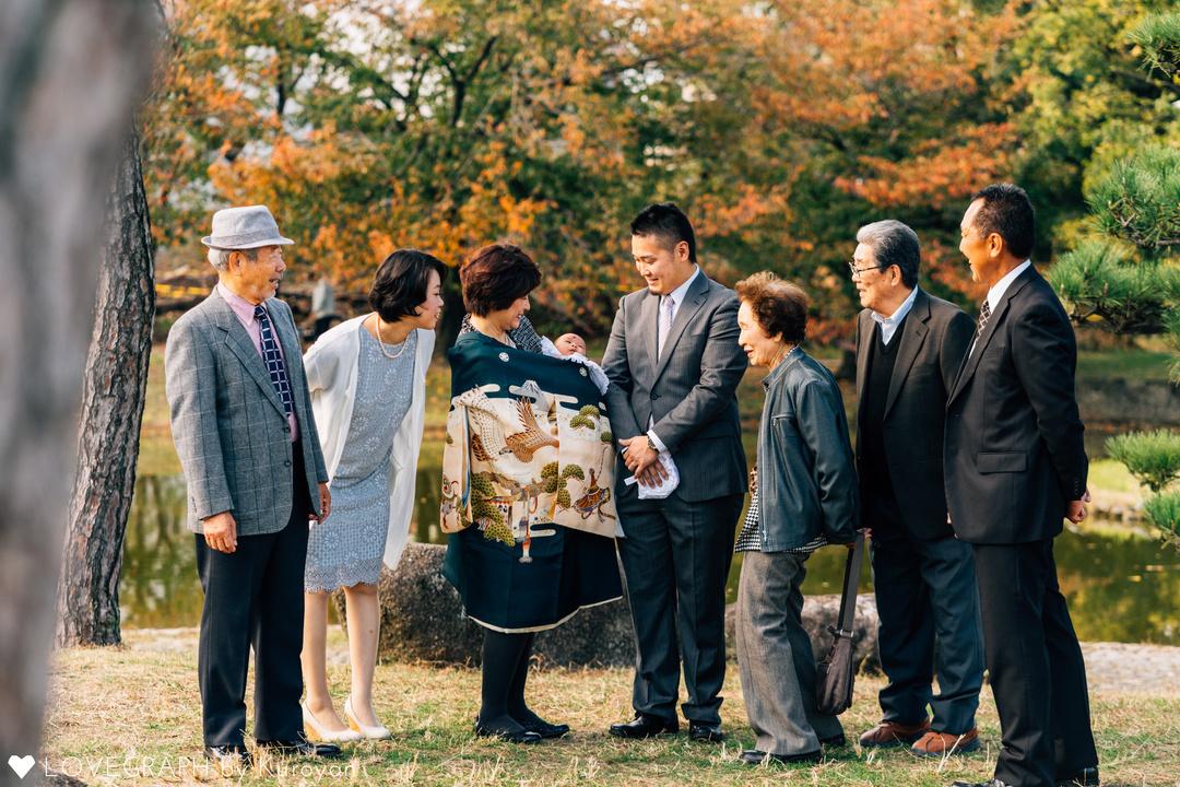 幸せなお宮参り | 家族写真(ファミリーフォト)