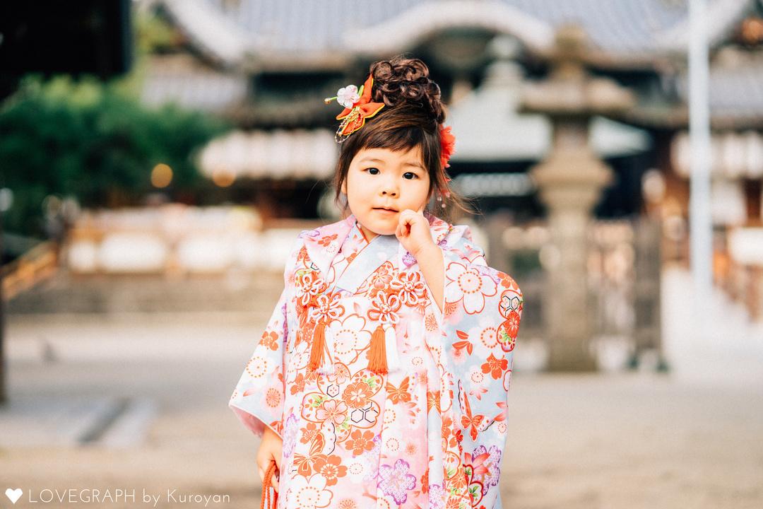 愛奈七五三 | 家族写真(ファミリーフォト)