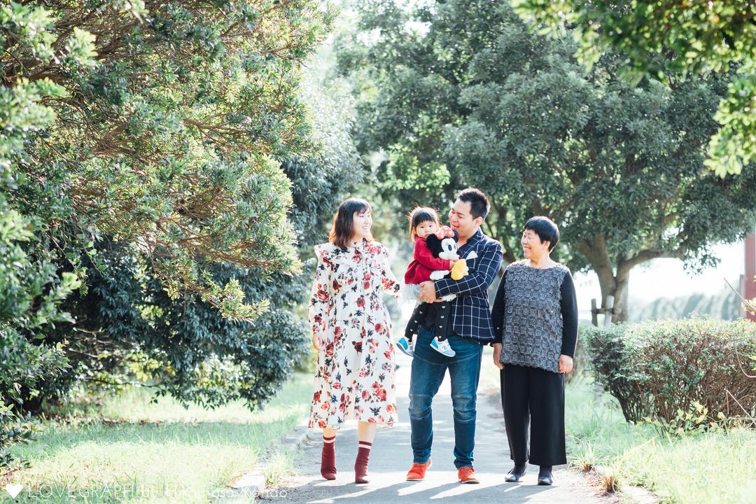 Karoku family | 家族写真(ファミリーフォト)