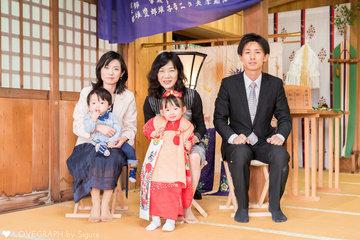 松尾七五三 | 家族写真(ファミリーフォト)