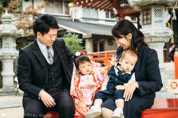 Yuika 七五三 2018.11.04 | 家族写真(ファミリーフォト)