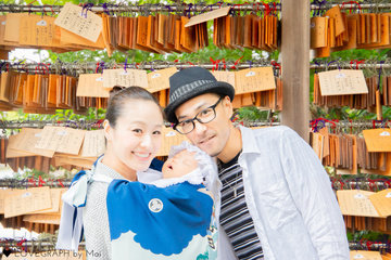 Yuzuki 初宮参り | 家族写真(ファミリーフォト)