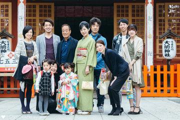 rinno 七五三 | 家族写真(ファミリーフォト)