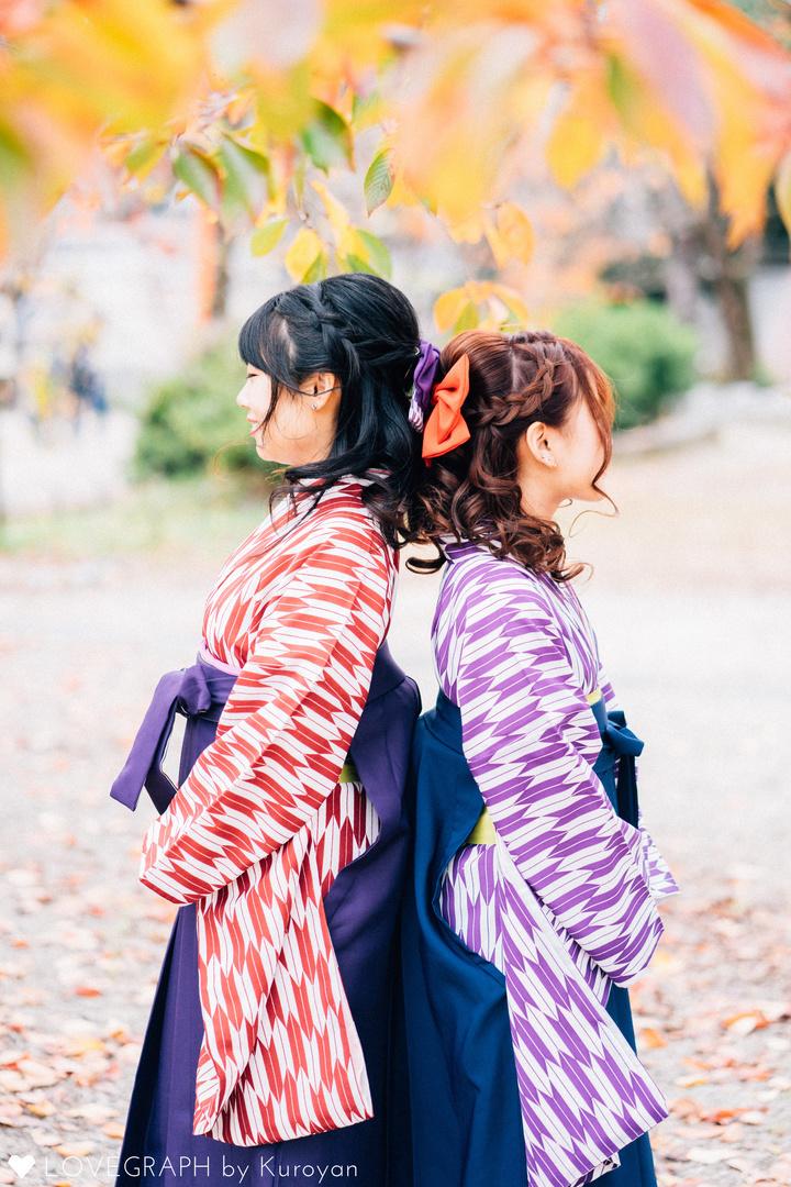 Kaho×Misaki   フレンドフォト(友達)