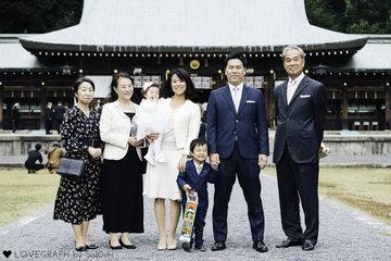 Yushi family | 家族写真(ファミリーフォト)