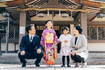 蘭 七五三 | 家族写真(ファミリーフォト)
