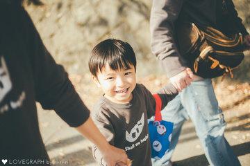 Tsuji Family | 家族写真(ファミリーフォト)