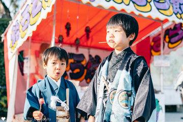 七五三 鶴岡八幡宮 | 家族写真(ファミリーフォト)