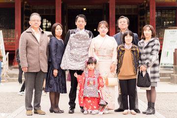 雫 七五三 | 家族写真(ファミリーフォト)