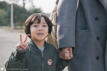 TAKEUCHI家 | 家族写真(ファミリーフォト)