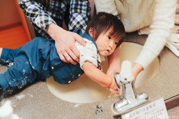 yoshihiro 1st birthday | 家族写真(ファミリーフォト)