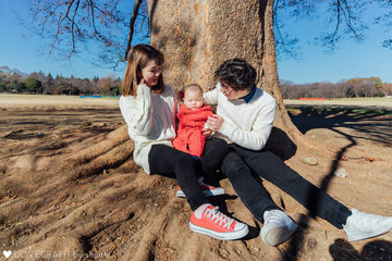 Harada Family | 家族写真(ファミリーフォト)