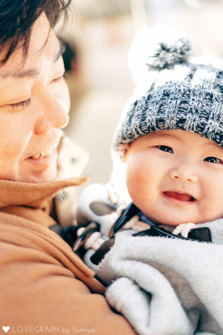 YUTO初詣 | 家族写真(ファミリーフォト)