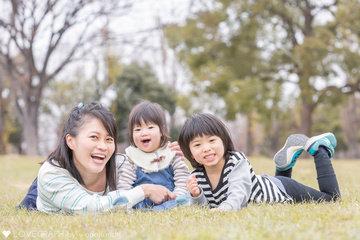 Ryoma ☆ Ruri  | 家族写真(ファミリーフォト)