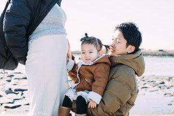 2nd baby is soon! | 家族写真(ファミリーフォト)