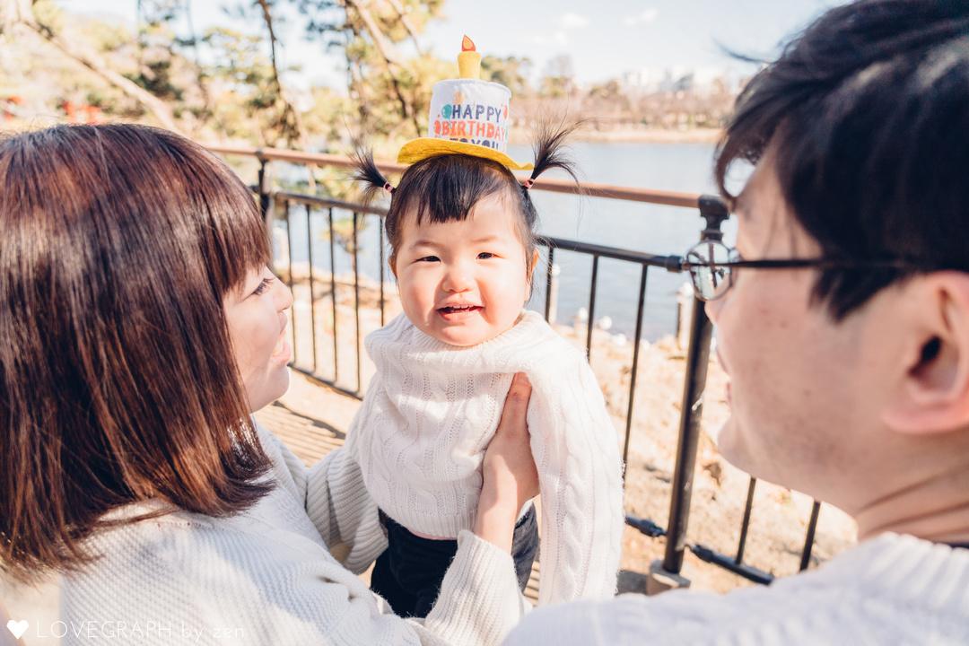 Happy 1st birthday! | 家族写真(ファミリーフォト)